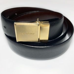 YSL Reversible Belt Vintage Yves Saint Laurent